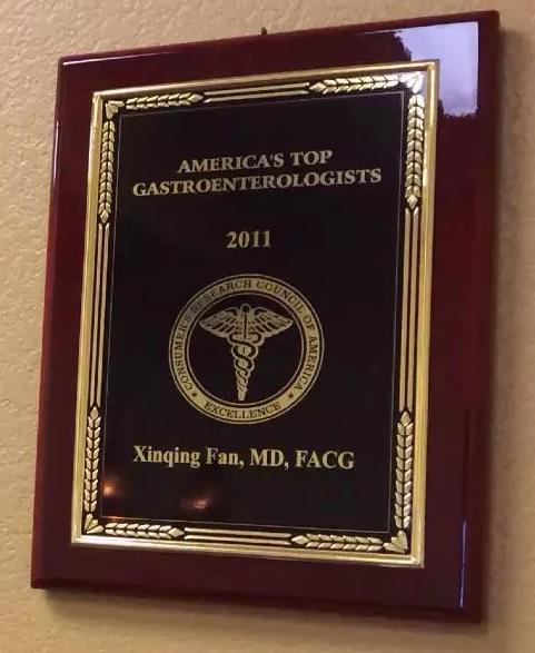 Dr. Fan's Award